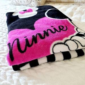 Minnie Mouse Plush Fleece Throw